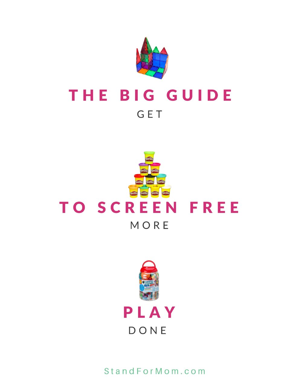 The Big Guide to Screen Free Play - Download here