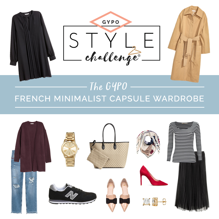 French Minimalist Capsule Wardrobe for Moms