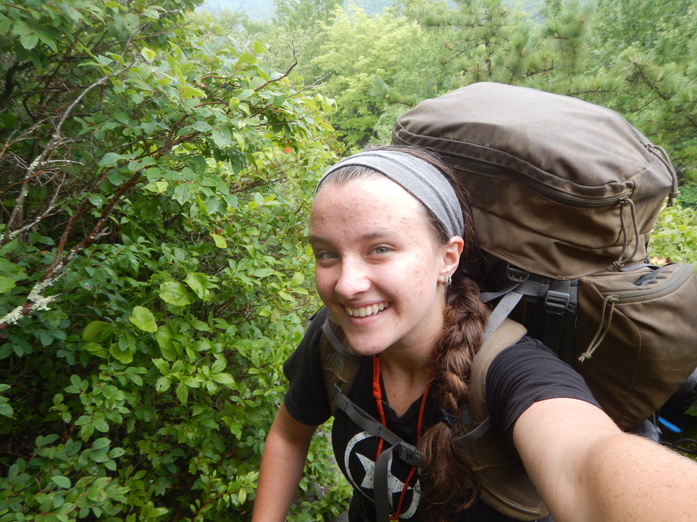 """I have learned a lot about traveling on trail and a lot more about traveling through life... especially as a leader."" -Annabeth Berry, Student"