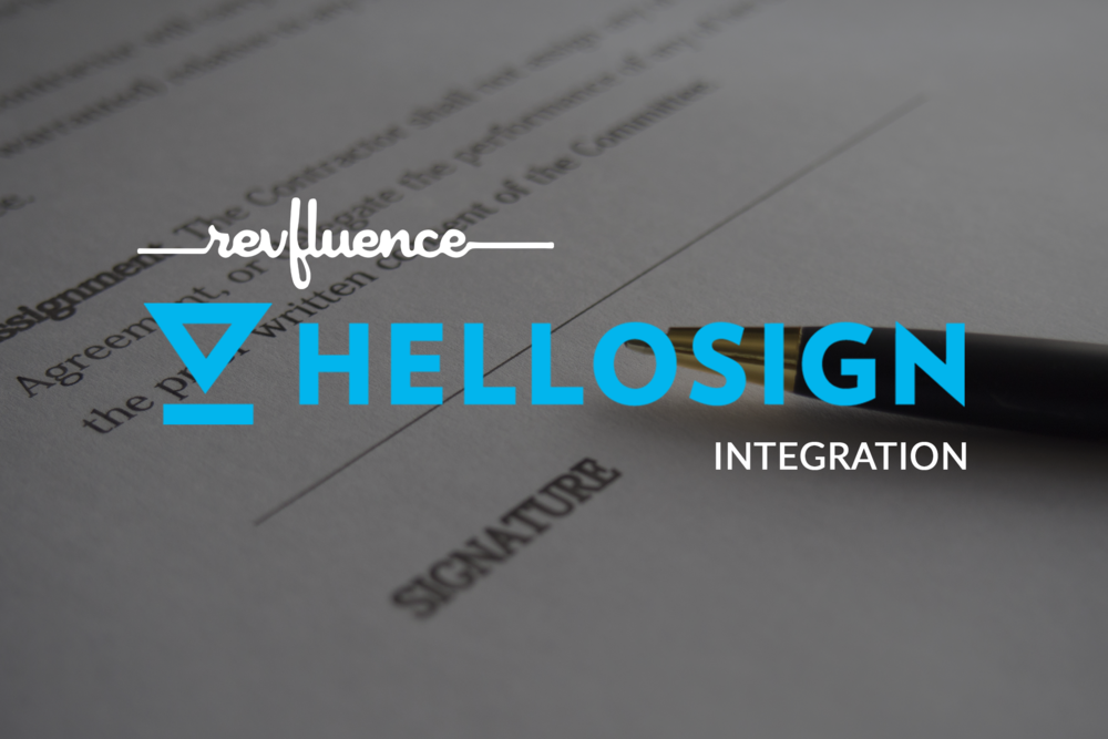 New In RevfluenceStreamline Legal Contracts With HelloSign Blog - Legal contracts