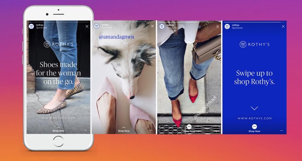 Image result for instagram ads stories