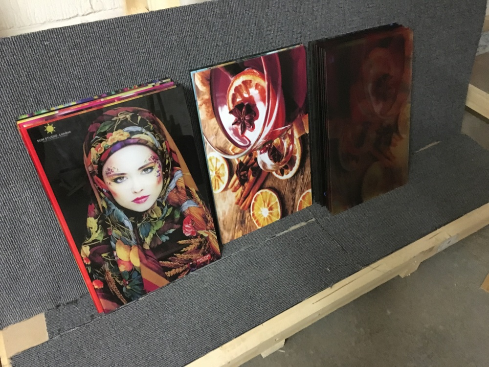 Some art panels for interior decor in Shoreditch penthouse.