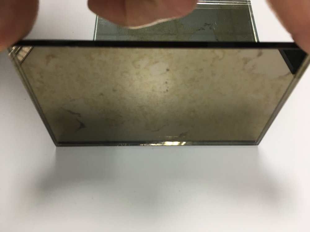 how to make tinted mirror