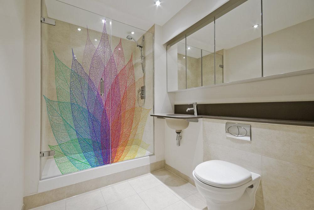 Printed shower screens and shower panels — SUN STUDIO.London