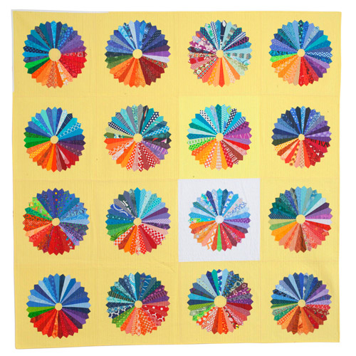 Unequal: Pie Charts , 2015 Cotton, Quilted Image courtesy of the Artist