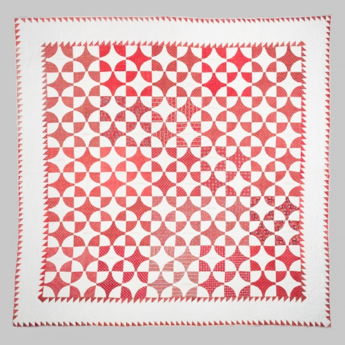 Millwheel Signature Quilt , 1844, Unknown maker Gift of Lea Russo and Bruce Berman, 2016.500.001