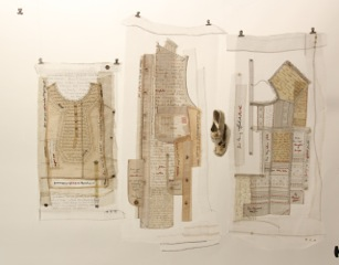 (Hi)Stories Uncovered  Ali Ferguson Print & hand stitching on domestic textiles and vintage garments
