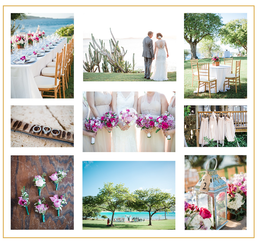 Highland Avenue Events | Destination Wedding, St. John USVI, Caneel Bay