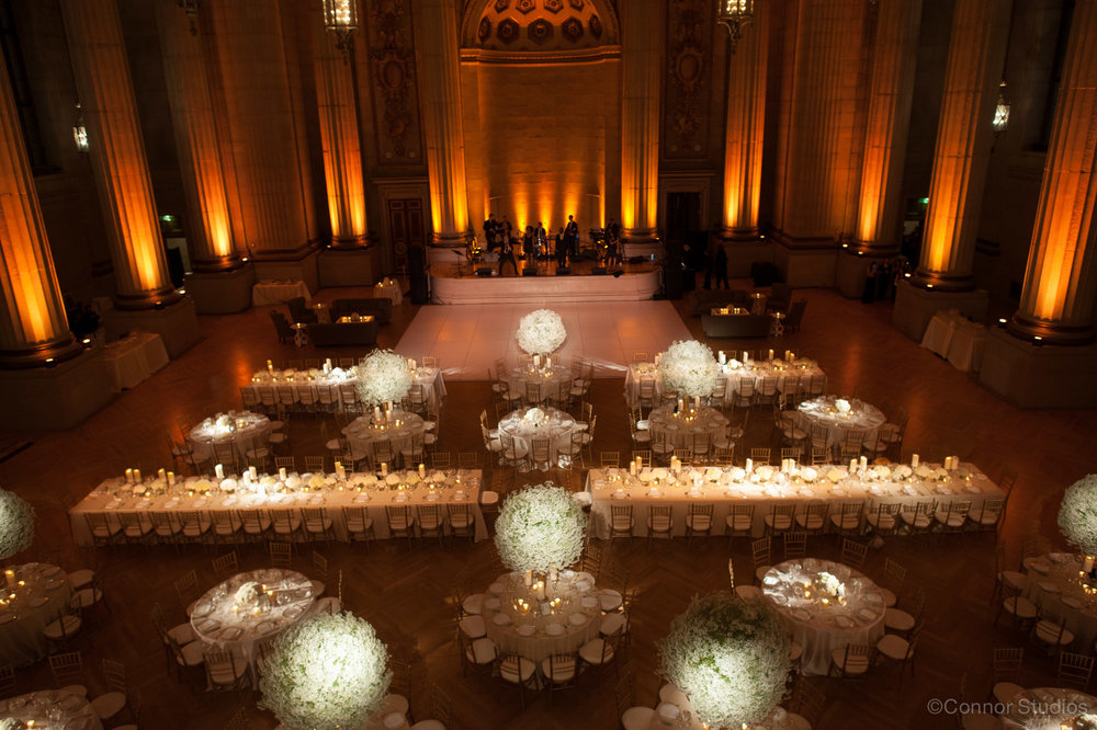 Andrew Mellon Auditorium Wedding by Highland Avenue Events