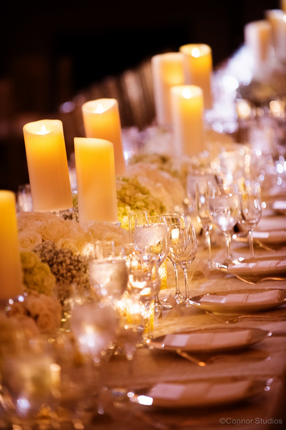Romantic Candlelight Wedding by Highland Avenue Events