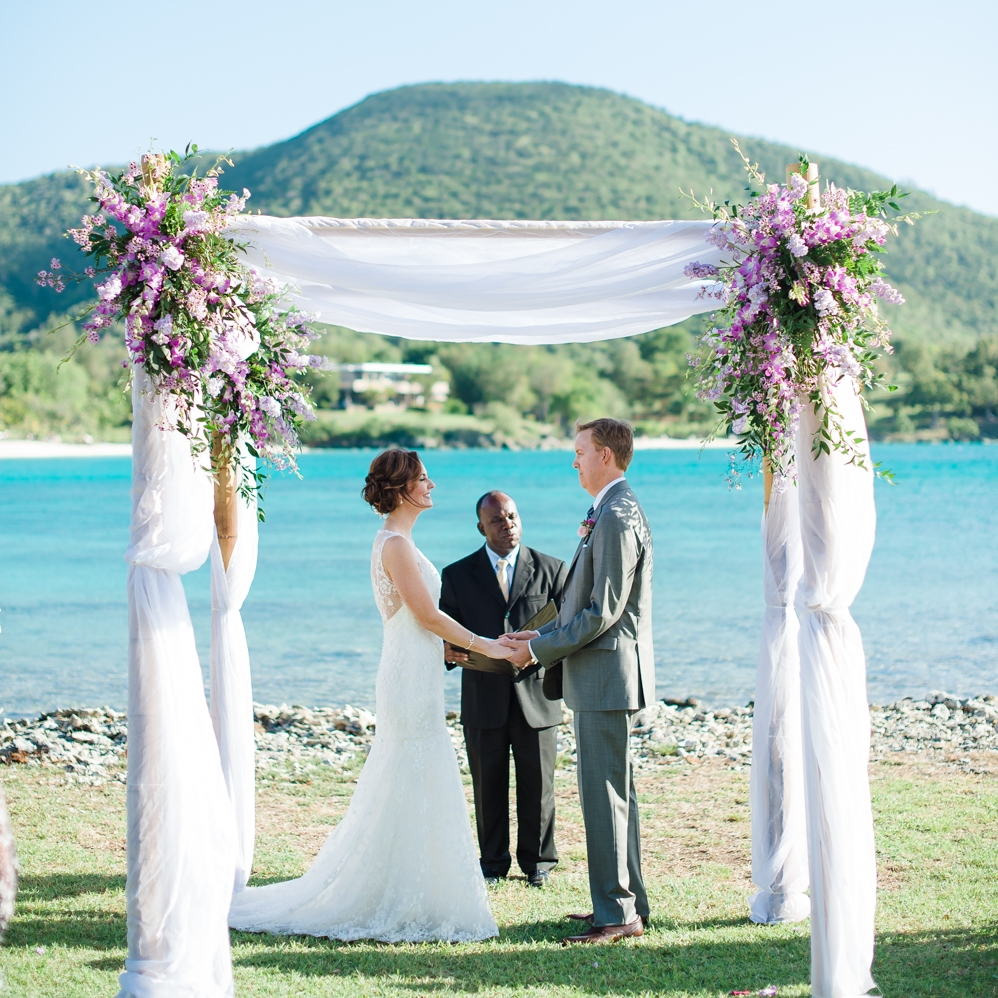 Caneel Bay St John Destination Wedding