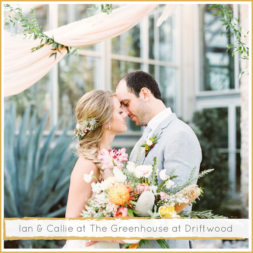 The Greenhouse at Driftwood Wedding by Highland Avenue Events