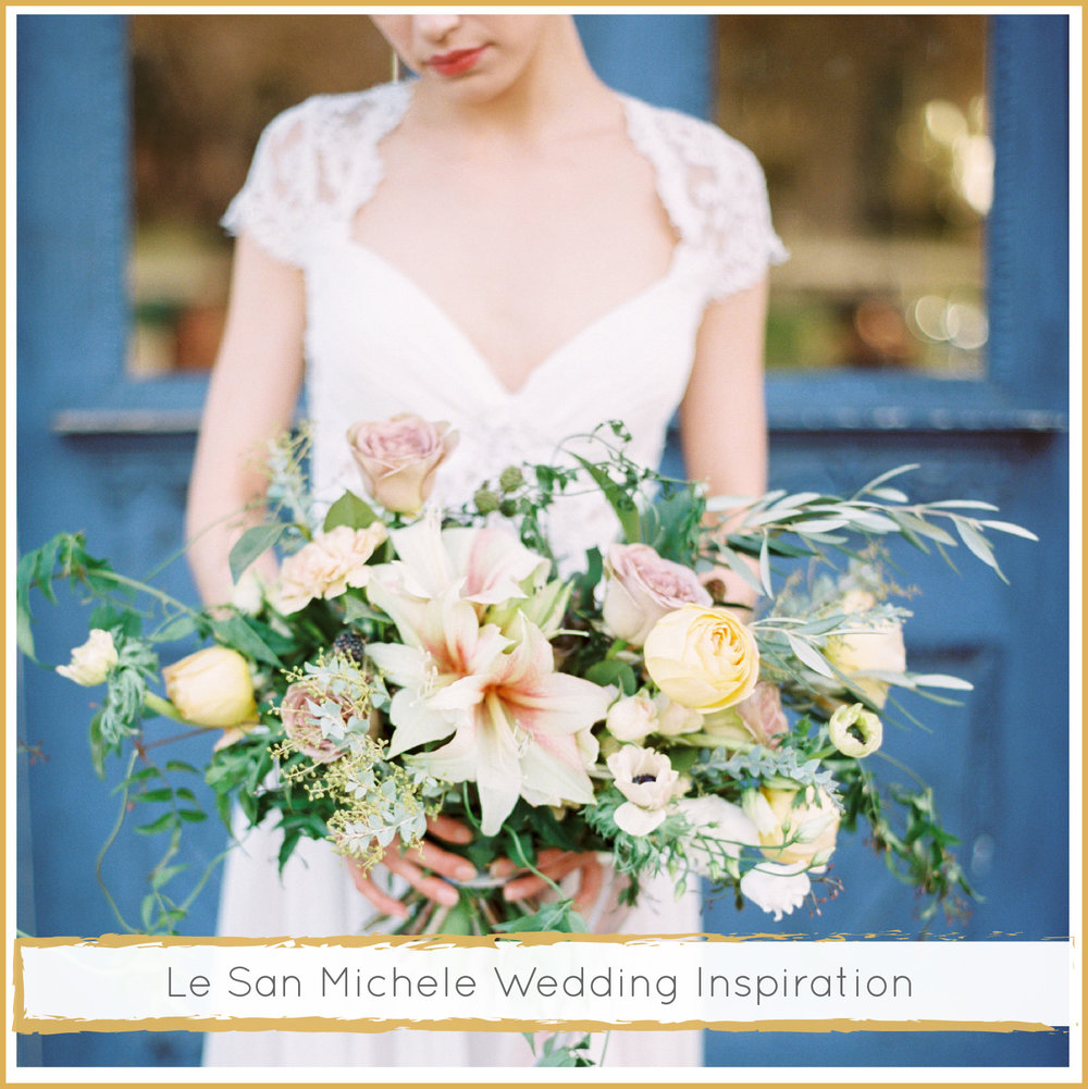 Le San Michele Wedding Inspiration by Highland Avenue Events
