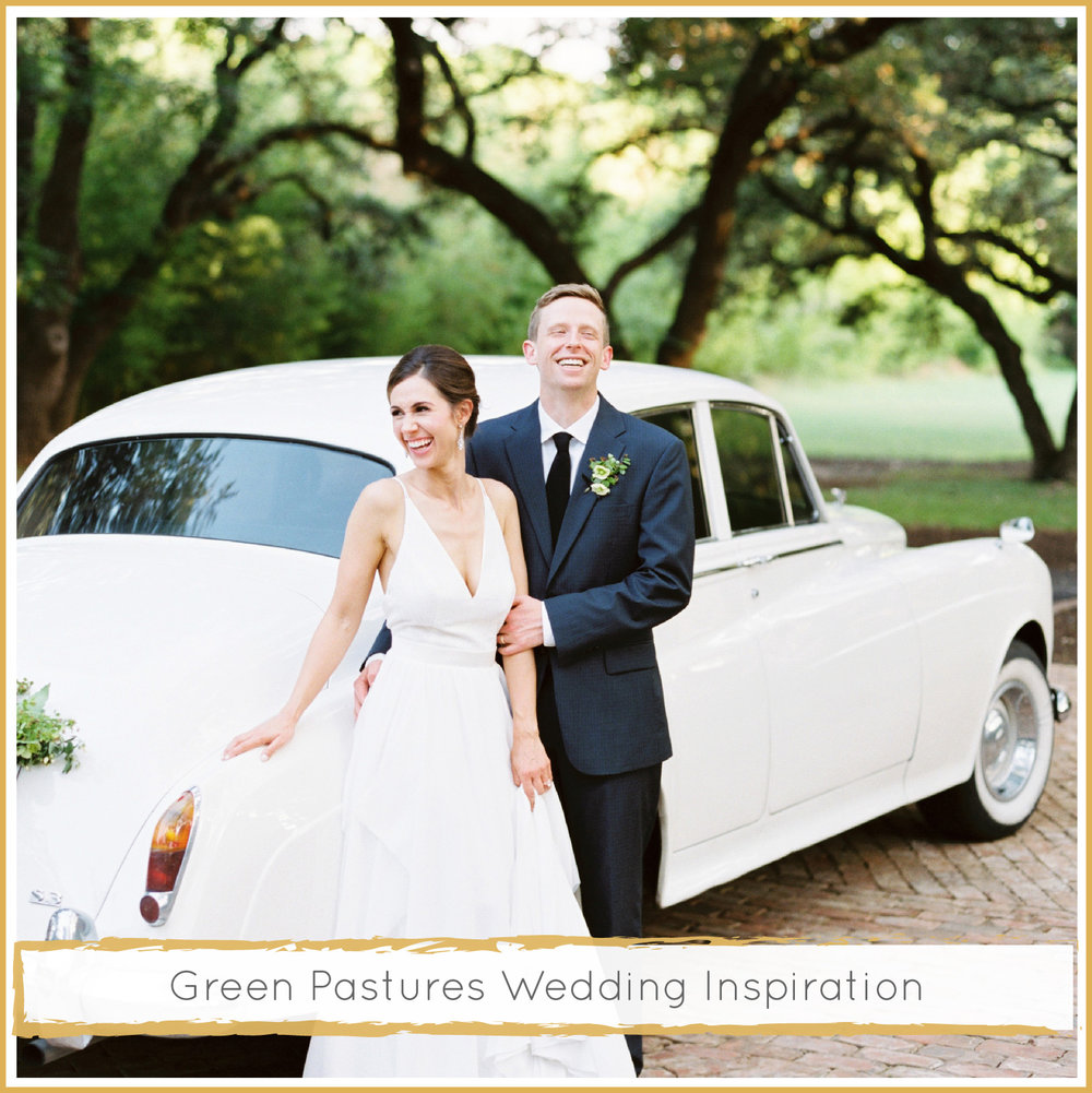 Green Pastures Wedding Inspiration by Highland Avenue Events