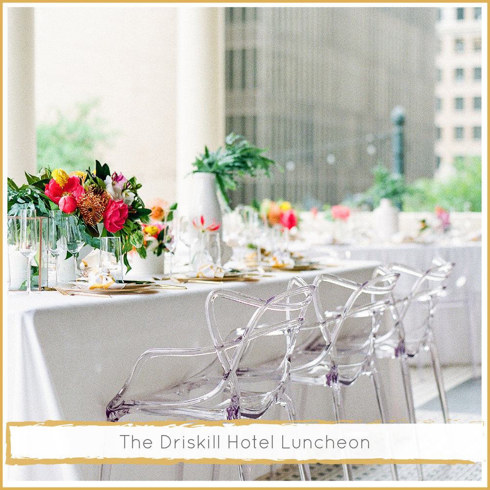 The Driskill Hotel Wedding by Highland Avenue Events