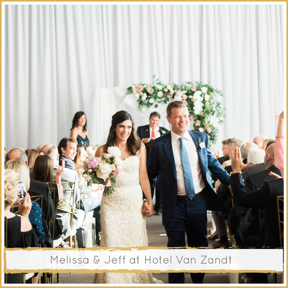 Lush Hotel Van Zandt Wedding by Highland Avenue Events
