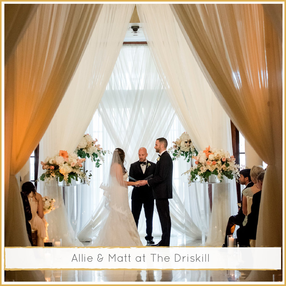 Allie & Matt's Luxe Art Deco Driskill Hotel Wedding