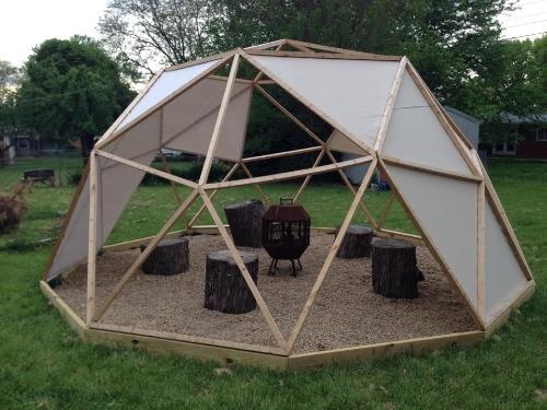 Backyard Dome backyard geo dome — jason steady