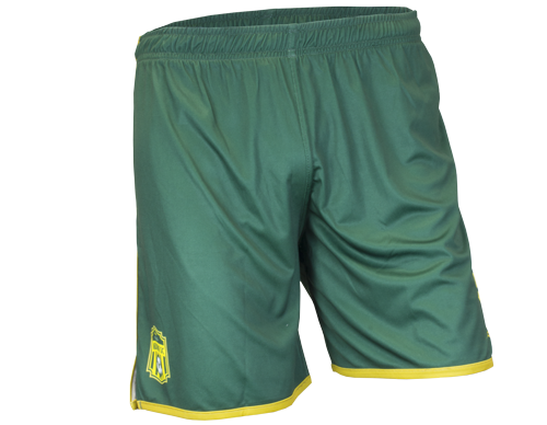 Pro Soccer Short - FEATURES• Elastic waist band with interior drawcord.• Pique lightweight polyester knit.• Italian sublimated print.• High filament QUICK-DRI technology.• Permanent antibacterial treatment.