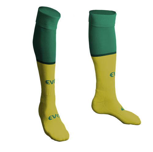 Pro Club Socks - FEATURES• COOLMAX® moisture wicking yarns.• Anti-slip technology.• Odour resistant.• Heel and toe reinforcement.• Arch support to reduce foot fatigue.• 45% nylon, 40% cotton, 12% polyester, 3% spandex.