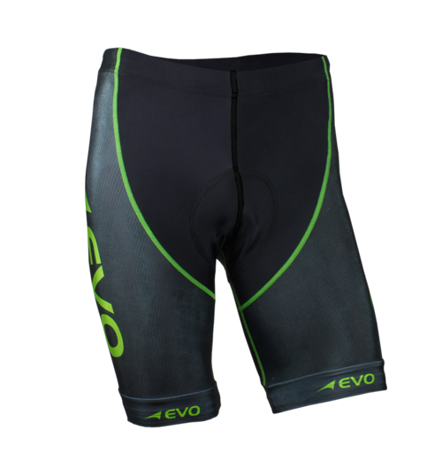 Pro Tri Short - FEATURES• Italian ACQUA ZERO® water repellent 4 way stretch compression technology.• Excellent SPF 50+ and wrinkle resistance.• Italian Elastic Interface® SUPER TRI PAD for ultimate performance and comfort.• Streamline aerodynamic cutting for optimal performance and speed.• Flatlock stitching to eliminate irritation and reduce chafing.• Italian powerband silicon boosters to improve aerodynamics and muscle support.