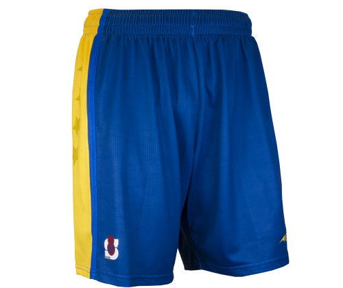 Pro Basketball Short - FEATURES• Elastic band with interior drawcord.• Lightweight Micro 3D Powermesh polyester.• Italian sublimated prints.• High filament QUICK-DRI technology.• Pique cotton feel polyester trims.• Permanent antibacterial and SPF50+ treatment.