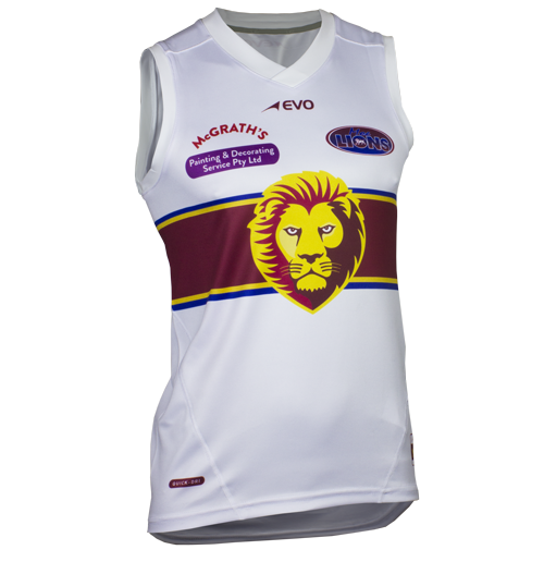 Pro Ausssie Rules Jersey - FEATURES• Lightweight durable polyester.• Italian sublimated prints.• High filament QUICK-DRI technology.• Pique cotton feel polyester trims.• Permanent antibacterial and SPF50+ treatment.