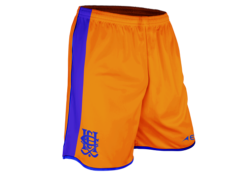 Pro Hockey Short - FEATURES• Elastic waist band with interior drawcord.• Pique lightweight polyester knit.• Italian sublimated print.• High filament QUICK-DRI technology.• Permanent antibacterial treatment.