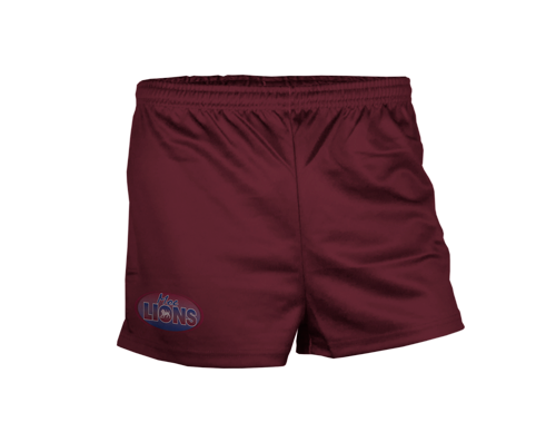 Pro Aussie Rules Short - FEATURES• Elastic band with interior drawcord.• Lightweight durable polyester.• Italian sublimated prints.• High filament QUICK-DRI technology.• Permanent antibacterial and SPF50+ treatment.