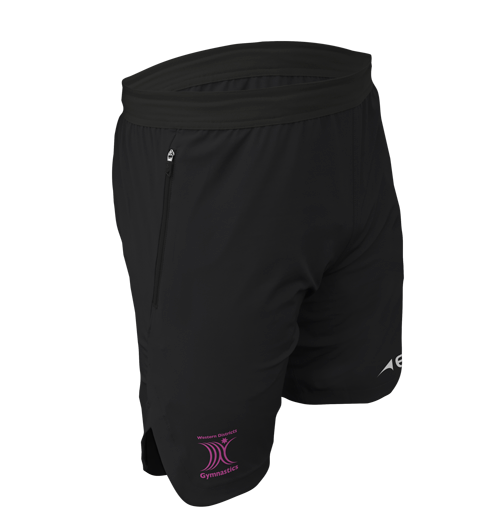 Event Tech Training Short - FEATURESDesign meets technology with EVO's Tech Short featuring woven construction and invisible side zip pockets, keeping your valuables safe as you pound the running track or bang through another gruelling gym session.