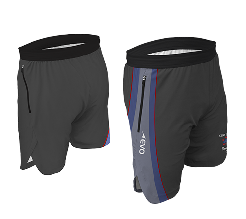 Full Sub Tech Training Short - FEATURESDesign meets technology with EVO's Tech Short featuring woven construction and invisible side zip pockets, keeping your valuables safe as you pound the running track or bang through another gruelling gym session.