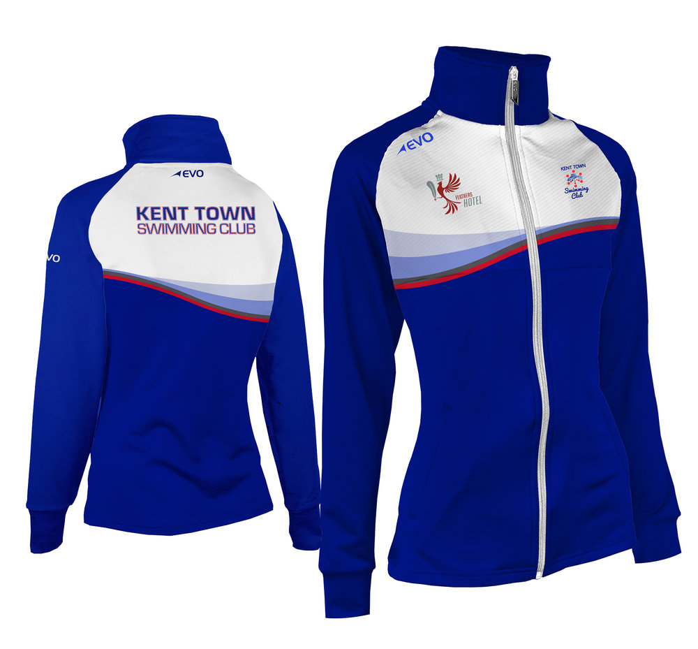 Full Sublimation Performance Track Jacket - Optimise performance and comfort with EVO's industry-leading 3D thermal wrap technology and high filament performance polyester, delivering a tailored look and cozy feel.