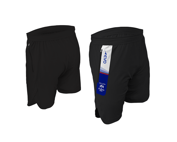 TeamPro Tech Training Short - Design meets technology with EVO's Tech Training Short featuring woven construction that remains soft against your skin, lightweight, breathable and is fitted using Quick-Dri moisture wicking technology. Functional invisible side zip pockets, keeps your valuables safe as you pound the running track or bang through another gruelling gym session.