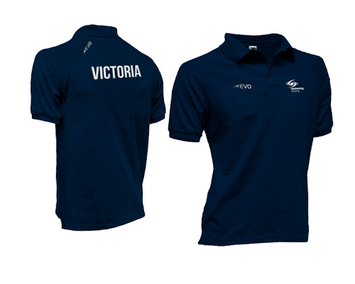 Active Polo - Using a Poly Cotton blend fibre. These styles are using the best of both worlds. You get cotton's superior soft natural fibre combined with polyester's stronger more durable fibre. Ribbed collar and sleeve trims.