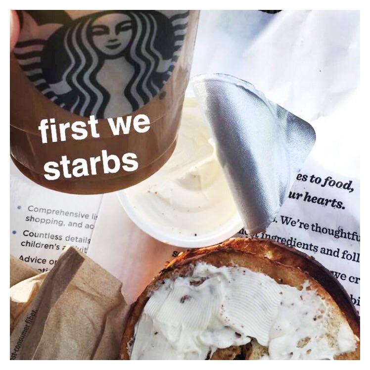 Starbucks of course!