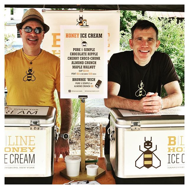 I Adore Our Local Stories! Making It Happen.  #BLineHoney #icecream #callicoonfarmersmarket #forestburghgeneral #catskills #catskillsny #catskillstyle #upstatenewyork #upstatelife #sullivancatskills #sullivancounty #countrygirllife #countrydrive #callicoon