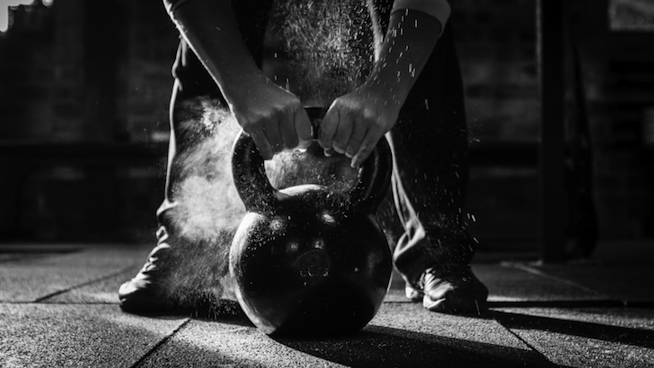 A high volume kettlebell workout does not count as an active recovery - no matter how light the load is.