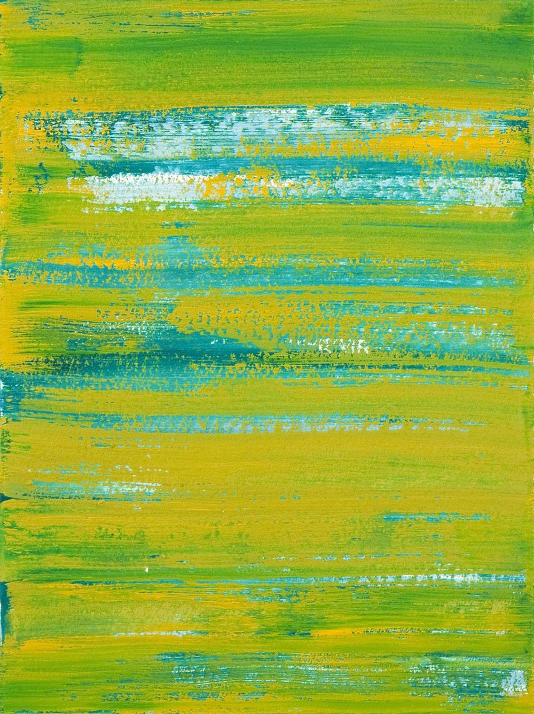 Schist 4 , 2011 casein on paper 15 x 11 in.