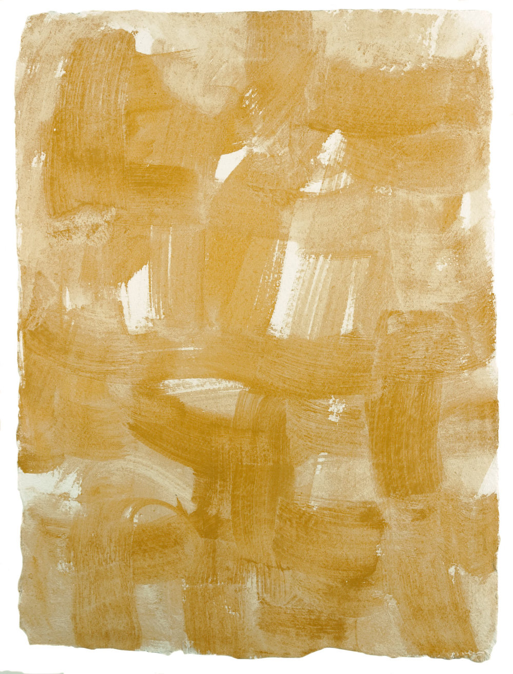 Nantucket 10 , 2011 casein on cotton rag paper 16.5 x 12.25 in.