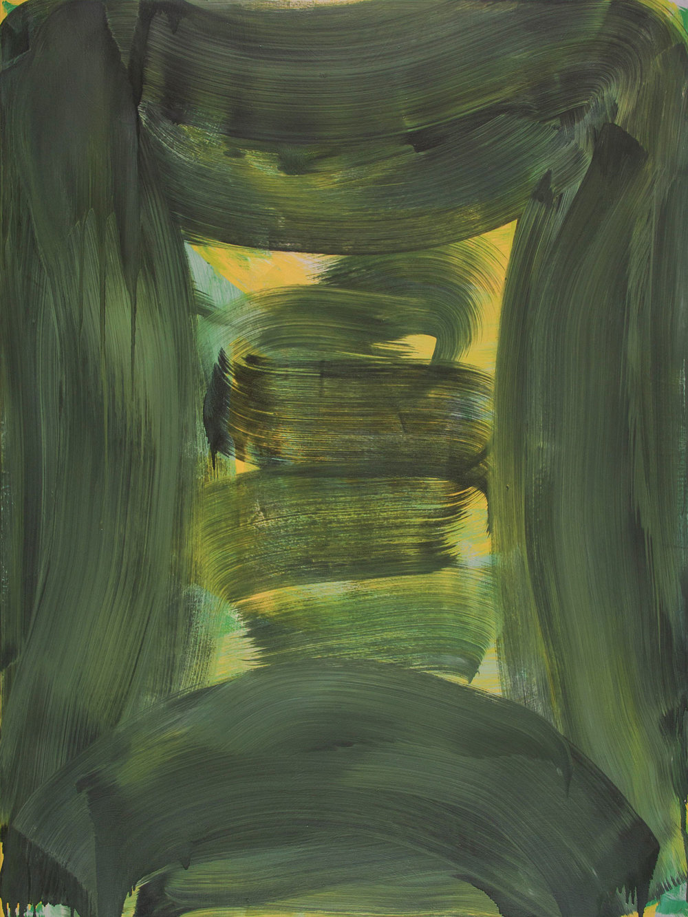 Citron Vault , 2015 oil on canvas 48 x 36 in.