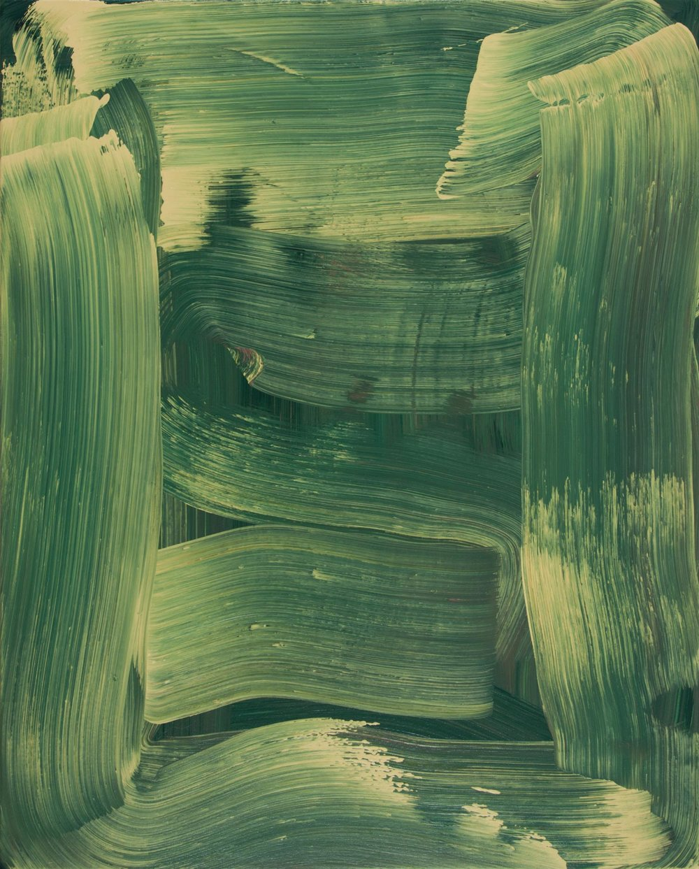 Serpentine , 2014 oil on canvas 30 x 24 in.