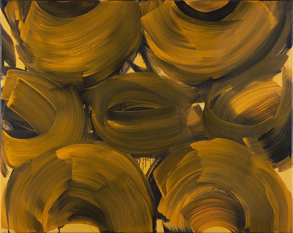 Vortex , 2018 oil on canvas 24 x 30 in.