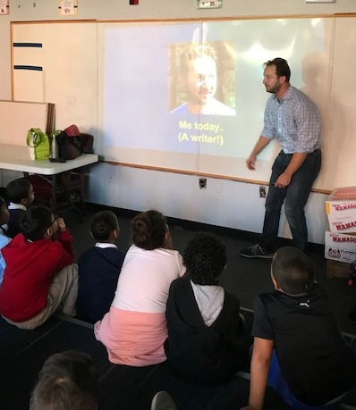 Author Adam Gidwitz Visits the Blackstone