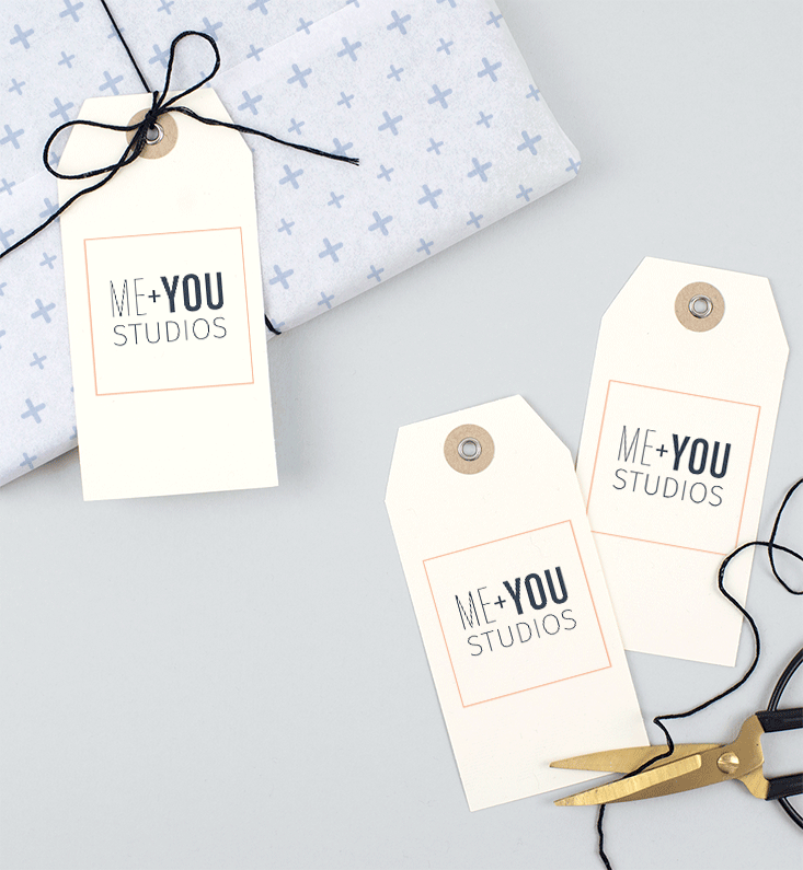 ME + You Studios Branding and Website Design on Little Dot Creative