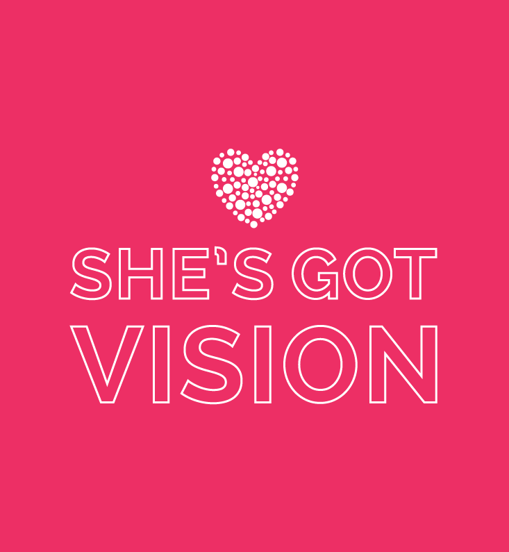 She's Got Vision Branding on Little Dot Creative