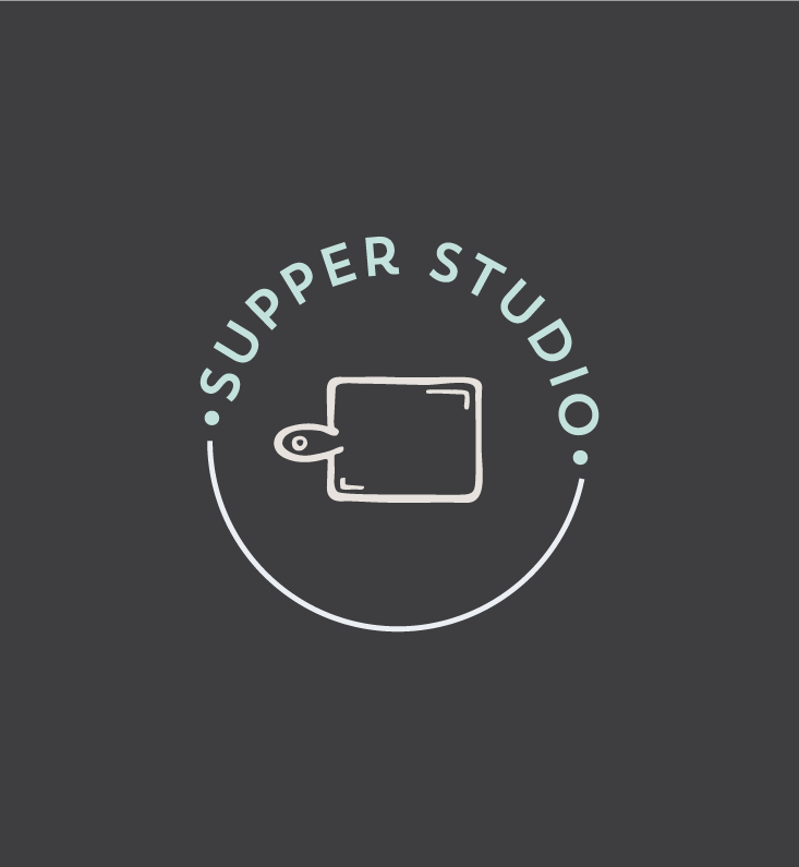 Supper Studio Branding and Squarespace design on Little Dot Creative
