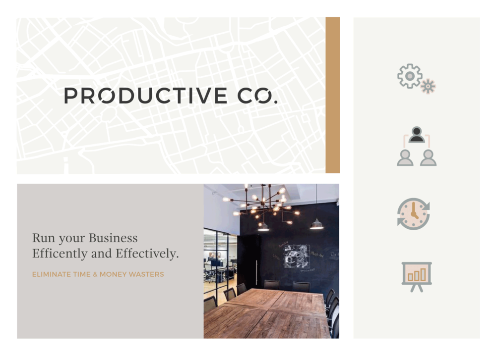 Productive Co. Branding Refresh Design on Little Dot Creative