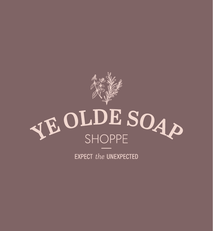 Ye Olde Soap Shoppe Branding and Squarespace Website Design on Little Dot Creative