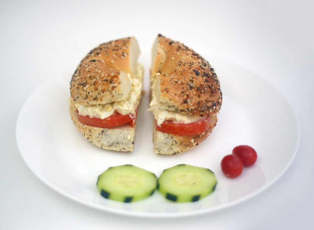 Bagel with Egg-salad
