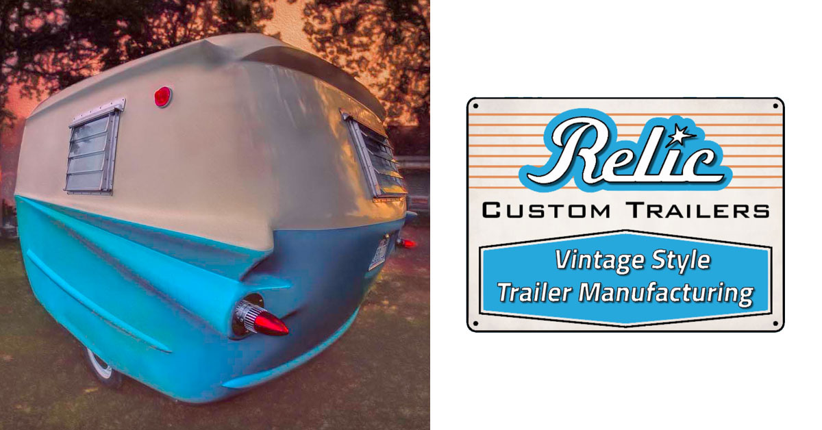Relic Custom Trailers | Build Your Dream VIntage Trailer